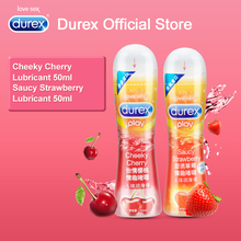 Durex Play Cheeky Cherry Flavoured Gel Lube Anal Lubrication