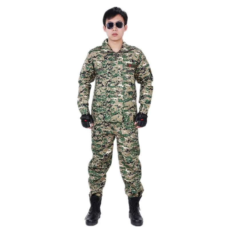 Manufacturers Wholesale Summer Military Training Camouflage Outdoor Field Operations Training Suit Military Training Camouflage
