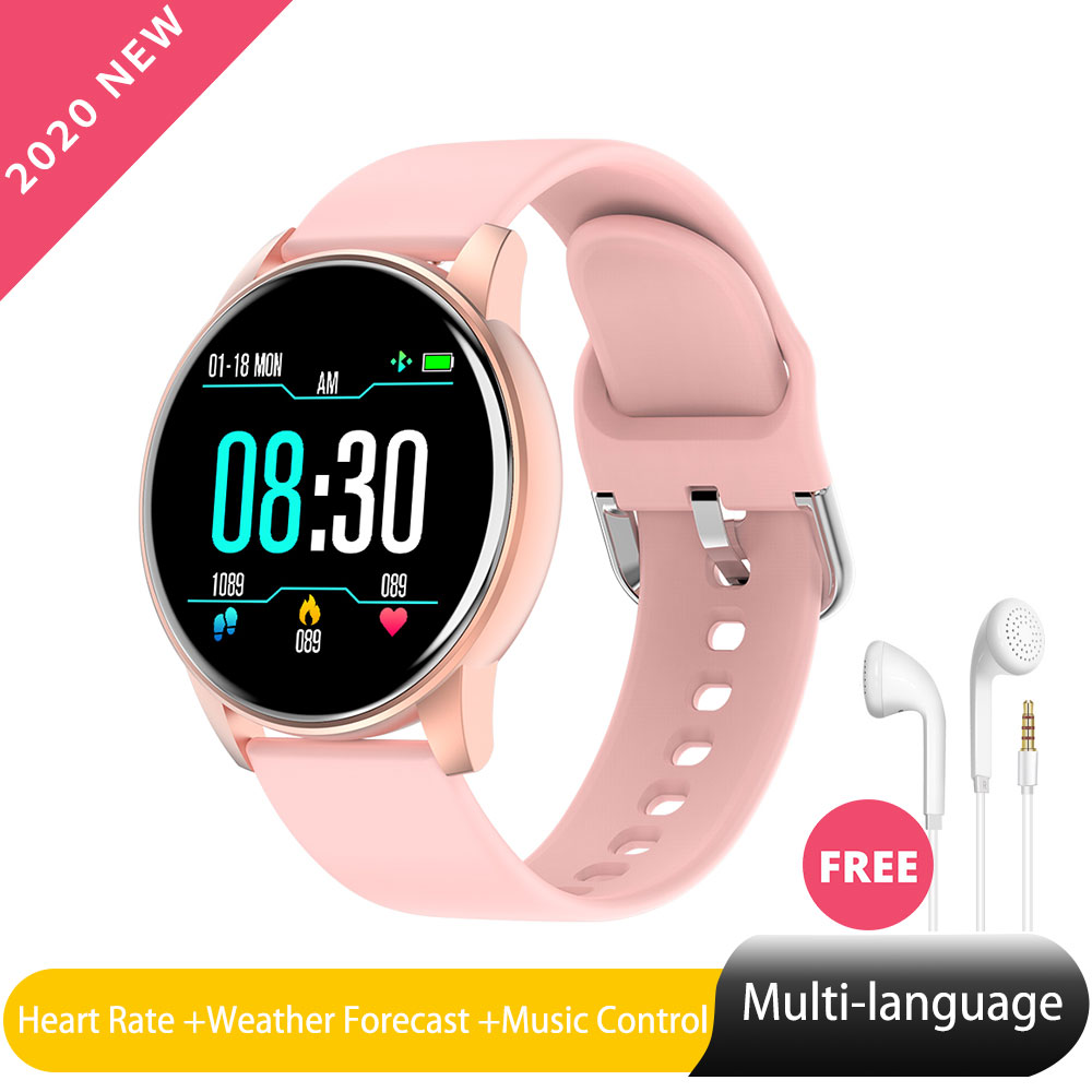 Zl01 Smart Watch Ios Android Wear For Women Blood Pressure Monitor Weather Forecast  Smartwatch For Xiaomi Samsung Phone PK S08