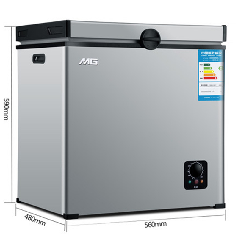 Small Refrigerator Freezer Mini Freezing Household Freezer Commercial Horizontal Deep Freezer Electric Mini Freezer Refrigerator