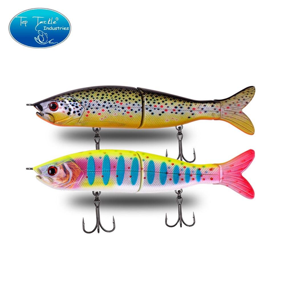 Bass Fishing Lifelke Swimbait Jointed Bait Segment Fishing Lure 125MM 24G