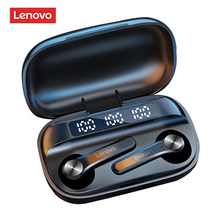Original Lenovo QT81 Earphone Wireless Bluetooth Headphones AI Control Gaming Headset Stereo bass With Mic Noise Reduction