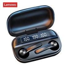 Original lenovo qt81 fone de ouvido sem fio bluetooth fones controle ai gaming fone estéreo baixo com microfone redução ruído