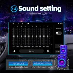 Image 3 - Universal 10นิ้ว/9นิ้ว2din Android 8.1รถวิทยุ1080P TouchระบบนำทางGPS Bluetooth Wifi SWC DAB FM AMกระจกเชื่อมโยงOBD 2