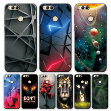 For Huawei Honor 7X Case Cover Honor 7X TPU Case Fashion Soft Silicone Phone Case For