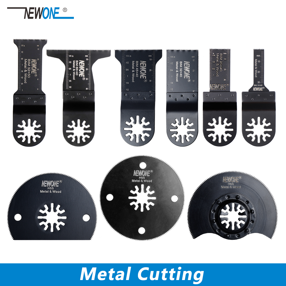 NEWONE Metal Cutting Saw Blade For Universal Oscillating Multi Tool Power Tool Fein Bosch Makita Milwaukee