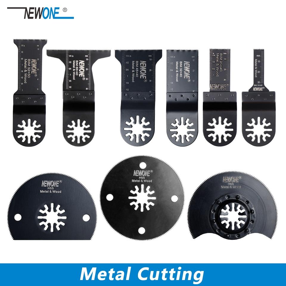 NEWONE Metall Schneiden Sägeblatt Für Universal Oszillierende Multi Tool Power Werkzeug Fein Bosch Makita Milwaukee