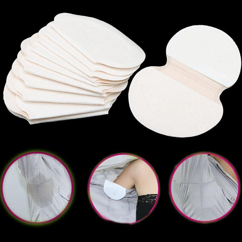 Hot 10pcs Underarm Dress Clothing Armpit Care Sweat Scent Perspiration Pad Shield Absorbing Deodorant Antiperspirant