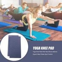 Yoga rodilla almohadillas muñeca caderas las manos codos equilibrio apoyo esteras para Fitness ejercicio de Yoga antideslizante protección esteras 2 unids/set