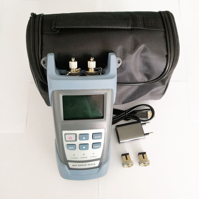 Ruiyan RY P100 1310/1490/1550m FTTH PON האופטי Power Meter עבור EPON GPON xPON הווו OLT