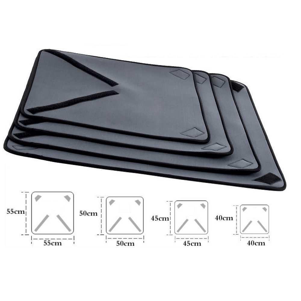 55 x 55cm Anbel SyShockproof Neopren-Tasche Magie Wrap Blanket for Canon//Nikon//Sony-Kamera-Objektiv Gr/ö/ße