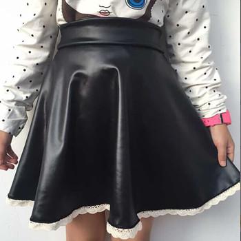 Damskie spódnice do tenisa damskie 2021 moda wysokiej talii Tutu koronkowa plisowana jednokolorowa klasyczna krótka spódniczka krótka spódniczka dla nastoletnie dziewczyny #45 tanie i dobre opinie WOMEN COTTON POLIESTER CN (pochodzenie) Stałe Tennis Skirts Pleated Skirt Dobrze pasuje do rozmiaru wybierz swój normalny rozmiar