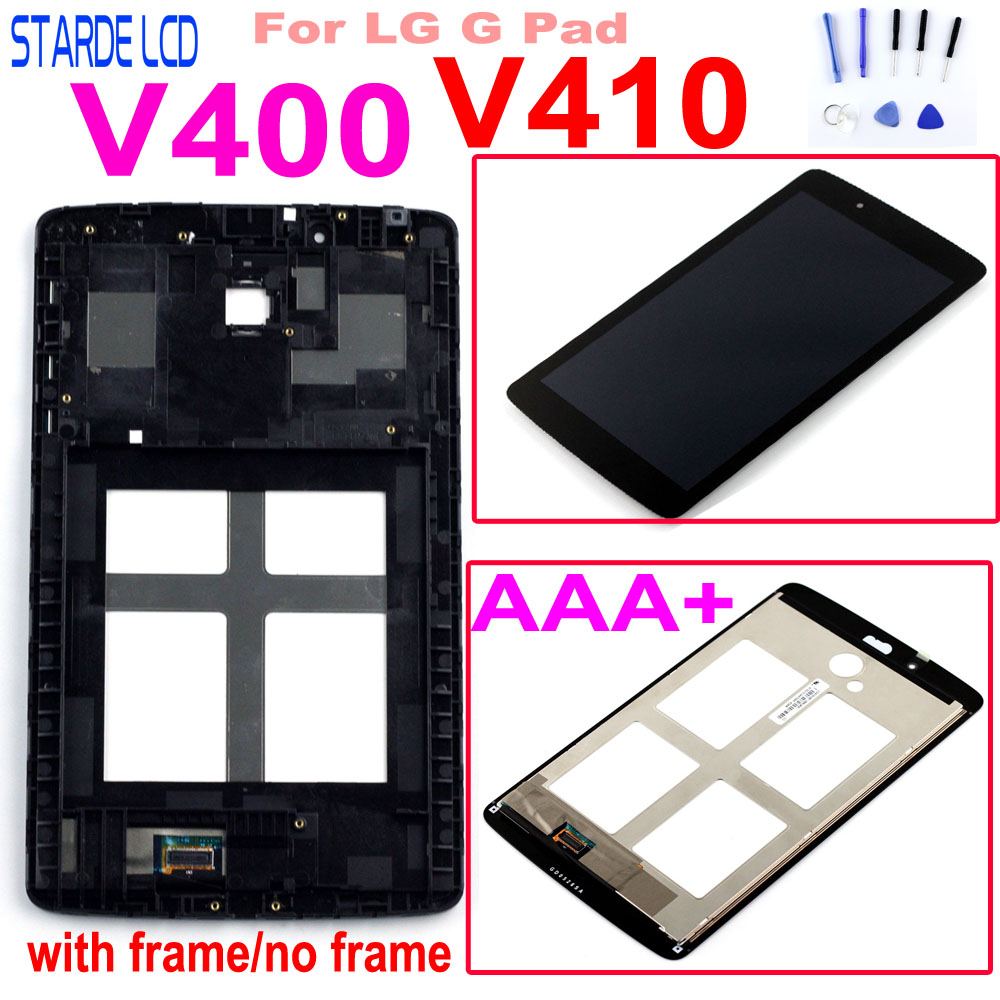 For LG G PAD 7.0 V400 V410 LCD Display Touch Screen Digitizer Assembly V400 Replacement Parts With Free Tools