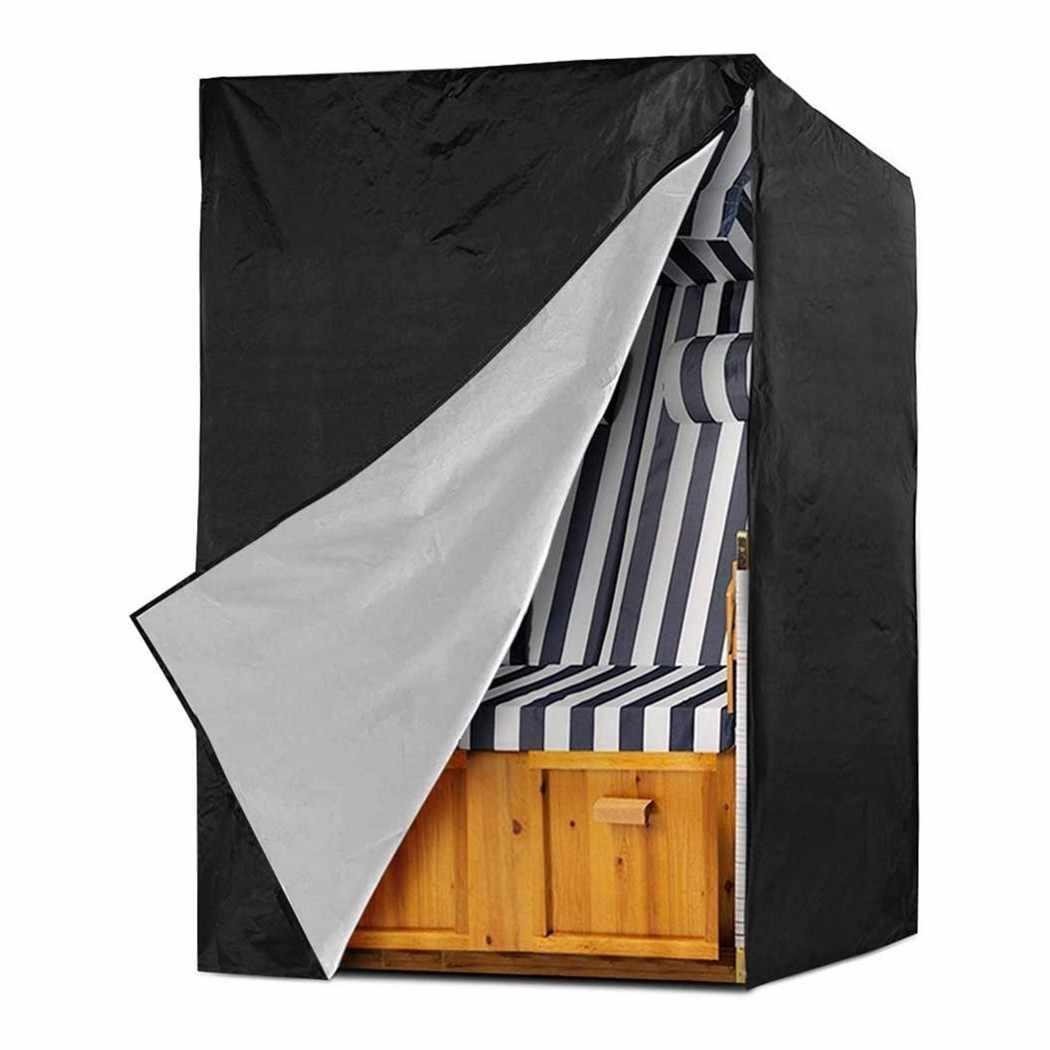 210D оксфордская тканевый пляжный стул крышка 175*140*135*105 см Wtarproof чехол для шезлонга