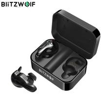 Blitzwolf BW FYE1 bluetooth V5.0 TWS Vero Wireless Sport Auricolare TWS Auricolari Hi Fi Stereo Doppio Microfono w/Scatola di Carico