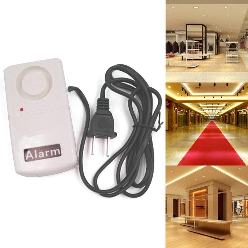 New 1 Pcs Security Safely Home Alarm Automatic Alarm 120 Db Power Electric Burglar Alarm 220v High Quality|Sensor & Detector| |  - title=