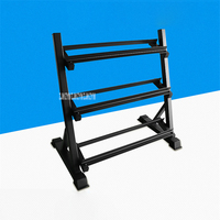 Indoor Square Pipe Dumbbell Stand Gym Vertical Fixed Three-Layer Dumbbell Placing Rack Dumbbell Bracket Bearing 200kg MD-05