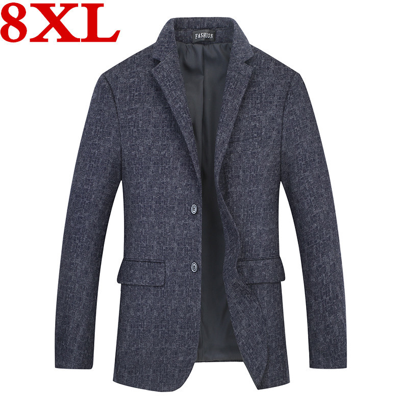 Plus Size 8XL 7XL 6XL 5XL New Arrival Luxury Men Blazer New Spring Fashion Brand Slim Fit Men Suit Terno Masculino Blazers Men