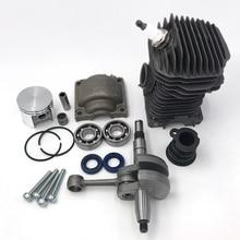 HUNDURE 42.5MM Cylinder Piston Engine Motor Rebuild Kit For STIHL 025 MS250 023 MS230 MS 230 250 Chainsaw 1123 020 1209 42 5mm cylinder piston kits for stihl 023 025 ms230 ms250 chainsaw clutch w drum chain sprocket bearing oil seal