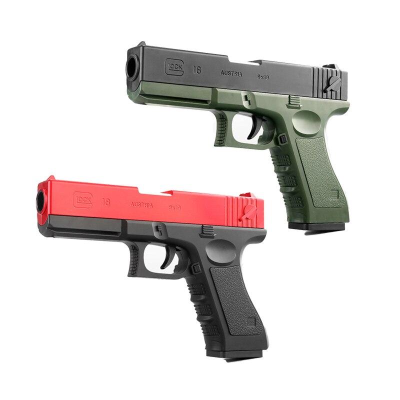 AirSoft Gun Manual Pistol Glock Toy Gun EVA Darts Gun Soft Bullet Shooting Boys Outdoor Toys Cs Game Sniper Weapon Gifts For Kid
