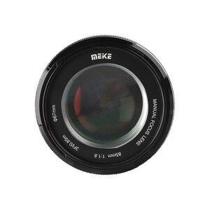 Image 4 - MEIKE 85 มม.F1.8 กล้องเลนส์คงที่โฟกัสเลนส์ APS C/กรอบเลนส์สำหรับ SONY E mount กล้อง A7RIII A7III A7M3