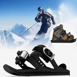 Mini Ski Skates Snow Shoes Mini Ski Skates for Snow The Short Skiboard Snowblades VIP Drop Shipping