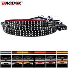 60 cali 1.5M ciężarówka światło tylnej klapy Bar Turn ostrzegawczy sygnał świetlny światła hamowania dla Dodge Ram 1500 2500 3500 4500 5500 Pickup