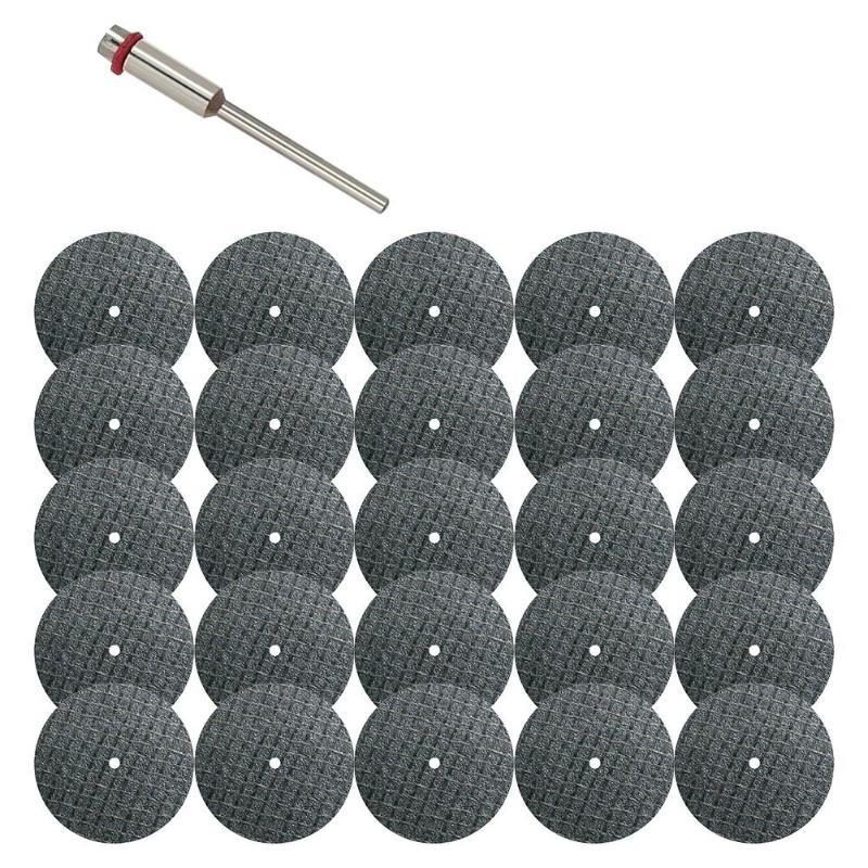 26pcs/lot Metal Cutting Disc For Grinder Rotary Circular Saw Blade Wheel