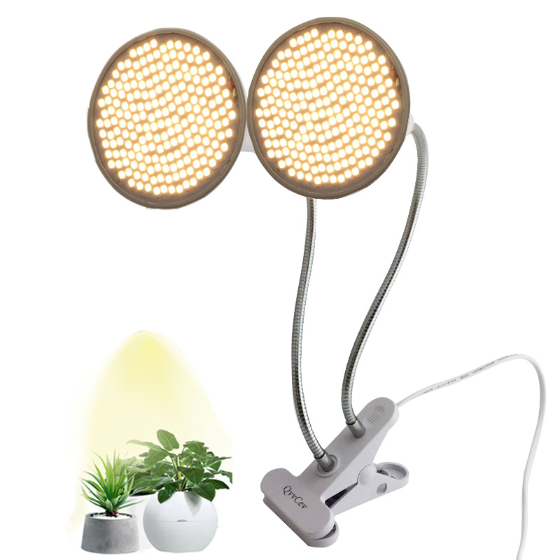 Full Spectrum 200 LED Plant Grow Light Phytolamp Yellow Fitolamp Indoor Vegs Cultivo Growbox Home Seeds Flower Plants Greenhouse