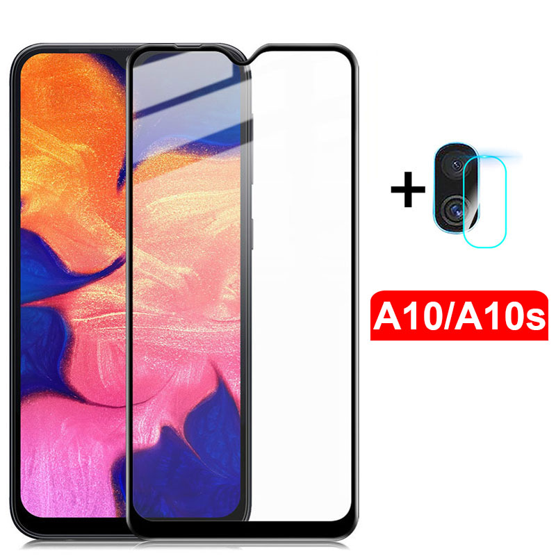2Pcs Protective Glass On The For Samsung Galaxy A10 A10s Camera Glass Protector For Samsang A 10S A 10 10A Safety Film Protector