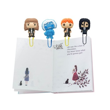 Απίθανοι Σχολικοί Συνδετήρες Βιβλίων με Διάσημες Φιγούρες (8τμχ) Αστείοι Σελιδοδείκτες Βιβλίων