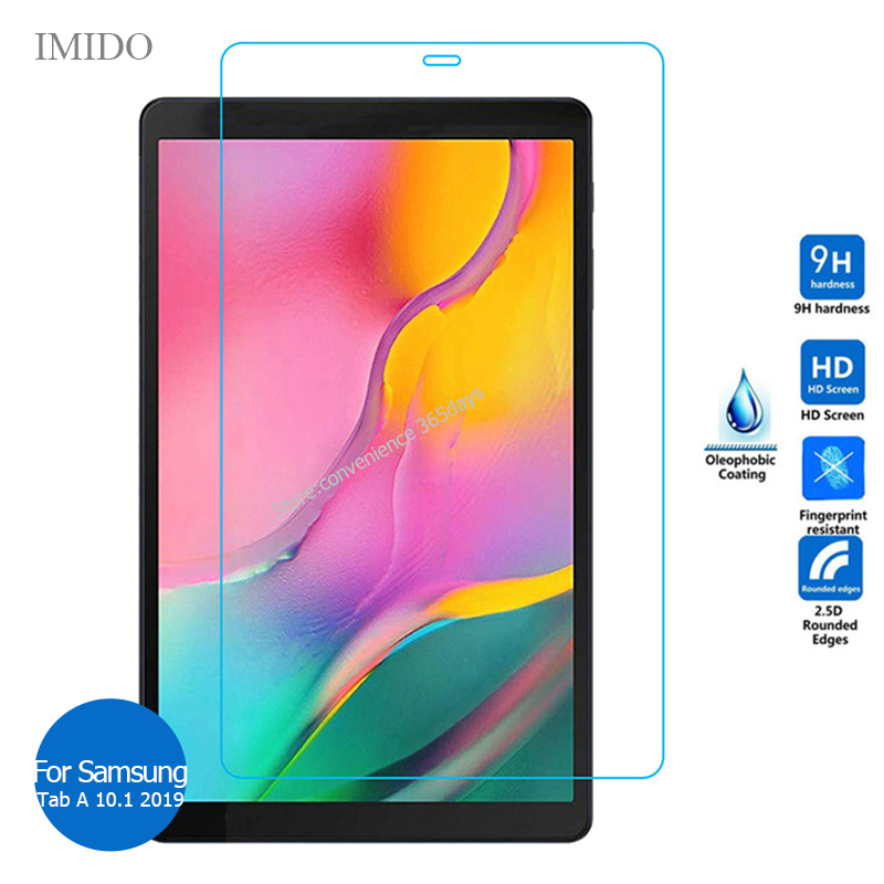 For Samsung Galaxy Tab A 10.1 2019 tempered glass screen protector 9H Safety Protective Film on TabA 10 SM T510 T515 <font><b>T</b></font> 510 <font><b>515</b></font> image