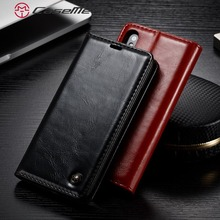 цена на Luxury Smooth Retro PU Leather Card Slot Stand Wallet Case For iPhone X 8 7 6 6s Plus 5 5s SE Phone Cases Cover Back Case