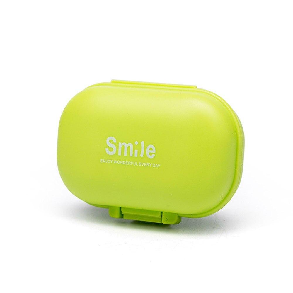Portable 4 Grids Pill Box Drug Tablet Medicine Storage Holder Splitter Case Storage Organizer Container Case
