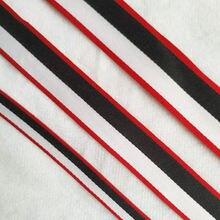 25 мм красный белый черный полиэфирные полоски лента отделка