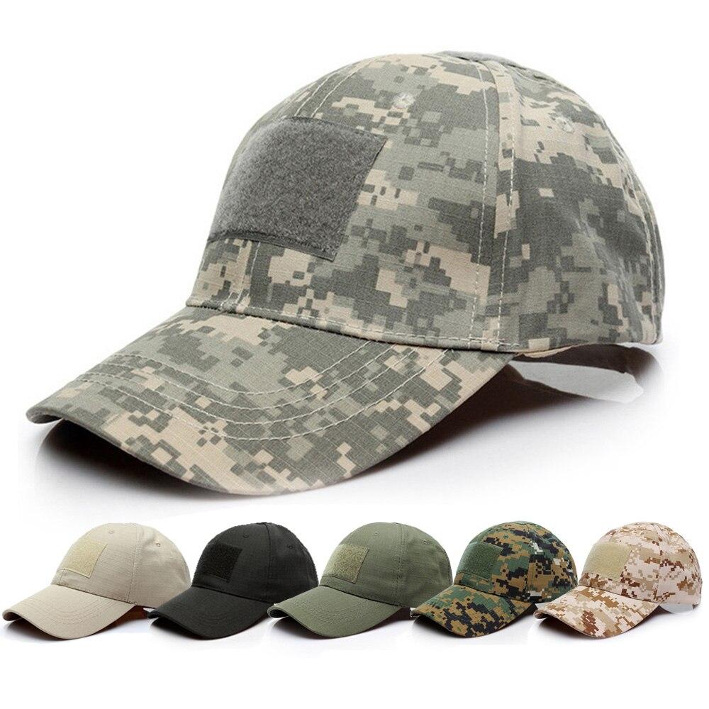 Gorra de béisbol portátil, sombrero para deportes al exterior, sombrero de camuflaje militar, ciclismo, correr, tapa de cabezal Protector para hacer ejercicio y senderismo