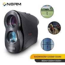 Нормальный лазерный дальномер 600 м 900 м 1200 м 1500 м лазерный дальномер для гольфа, охоты, съемки