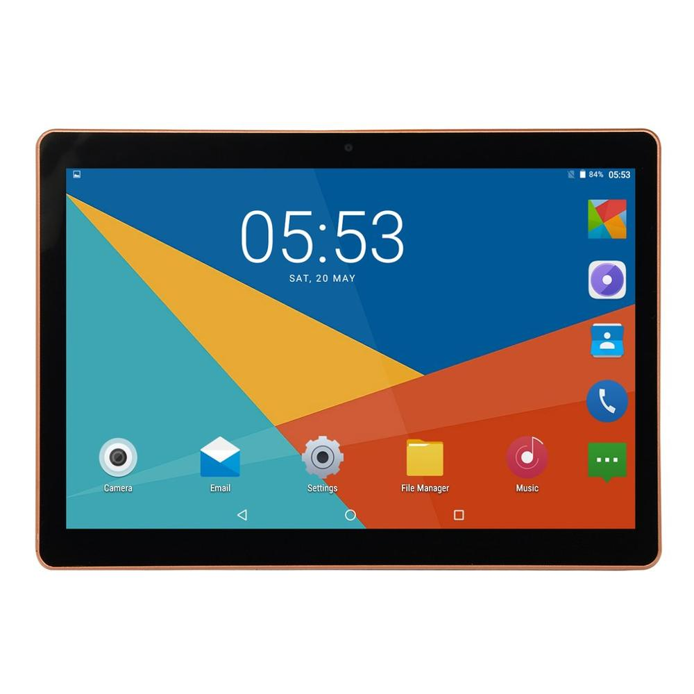 Xiajia KT107 Plastic Tablet 10.1 Inch HD Large Screen Android 8.10 Version Fashion Portable Tablet 8G+64G Black Tablet