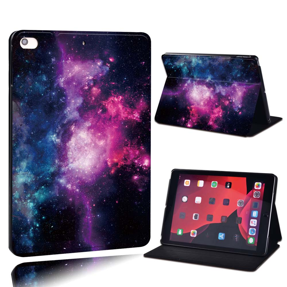 10.pink cluster Pink For Apple iPad 8 10 2 2020 8th 8 Generation A2428 A2429 PU Leather Tablet Stand