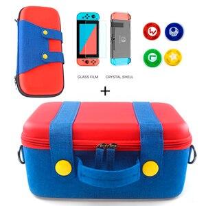 Image 1 - EVA Lagerung Box für Nintendo Schalter Tragetasche Spiel Konsole NS Host Zubehör Pack Nintend Schalter Zubehör Joycon Fall