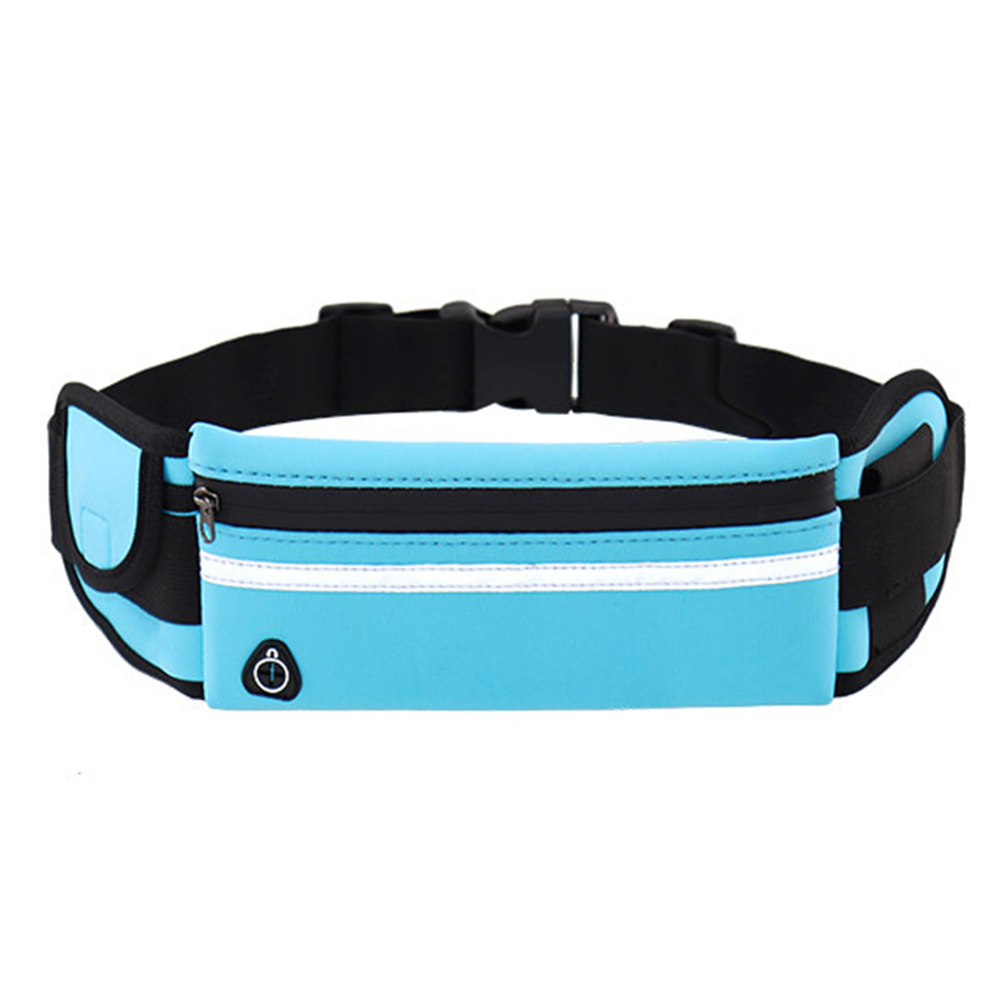 Oxford Waist Bag Resists Wear Scratches Fading Sports Water Bottle Pocket Travel Waist Purse Wallet Bags