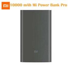 Originele Xiao Mi Power Bank 10000 Mah Pro Type C Externe Batterij Draagbare Opladen 10000 Mah Mi Powerbank Snelle kosten Voor Telefoon