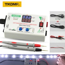 Tkdmr placa de corrente 0-330v inteligente, ajuste manual de voltagem tv led luz de fundo testador, corrente ajustável placa de corrente constante contas de lâmpada led
