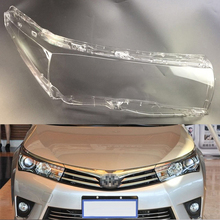 Car Headlight Lens For Toyota Corolla 2014 2015 2016 2017 Headlamp Lens Car  Replacement   Transparent Auto Shell