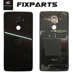 Black Back Cover For BlackBerry DTEK60 dtek 60 Back Battery Cover Battery Door Back Housing Rear Cover Replacement Parts Dtek60