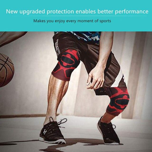 1Pcs Professionelle Knie Brace Compression Sleeve-Beste Knie Pads Knie Hosenträger für Männer Frauen, medizinische Grade knie ärmel unterstützung