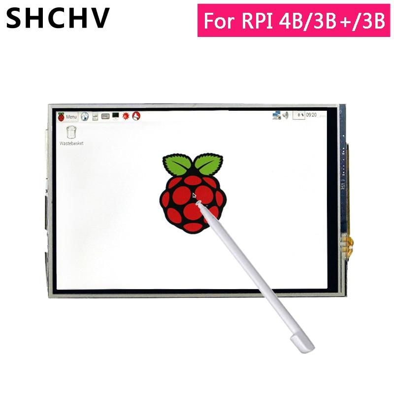 Raspberry Pi 4 Touch Screen 3.5 Inch Raspberry Pi 3 TFT LCD 480*320 Display 3.5'' Monitor For Raspberry Pi 4 3 Model B 3B Plus