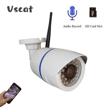 1080P 2MP Wireless IP Camera IR Night Vision Audio Record 720P Onvif P2P Video Security Wifi Camera Outdoor CCTV Surveillance hjt 48vpoe 720p 1 0mp hd fisheye wide angle surveillance ip camera p2p onvif indoor security cctv remote view ir night vision