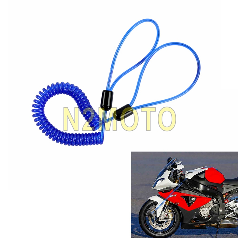 SECURITY BIKE SCOOTER MOTORCYCLE MOTORBIKE DISC LOCK REMINDER CABLE WIRE