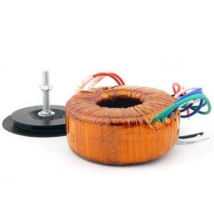 Image 2 - HIFI audio amp copper enamel wire toroidal transformer circular transformer power amplifier transformer 120w Output 18V 22V